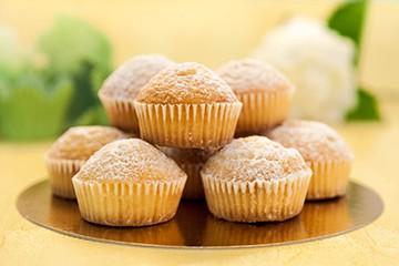Lyxiga vaniljmuffins