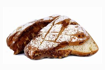 Maltbröd med västerbottenost